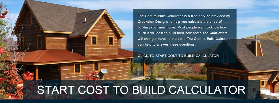 House cost estimator cost to build a home for Build my home calculator